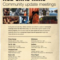 Red Chris mine community update meetings