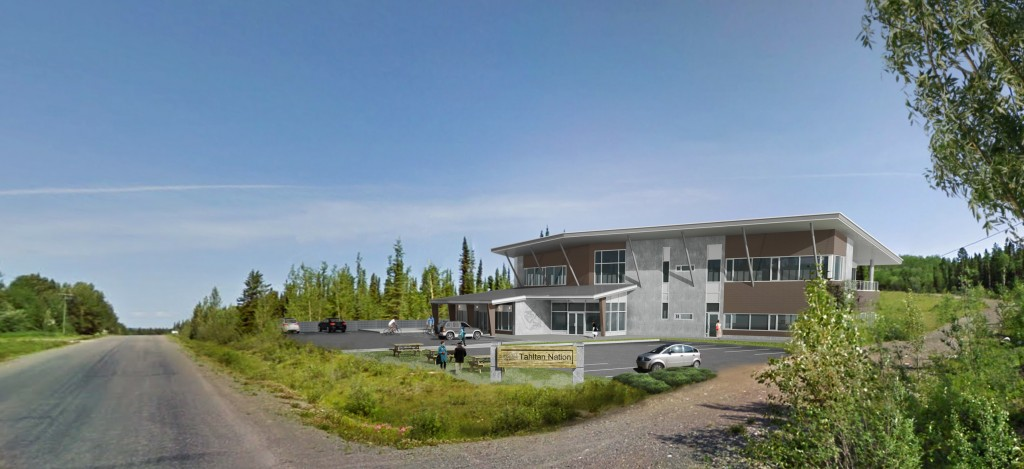 Artist's Impression of Proposed New Tahltan Government Building