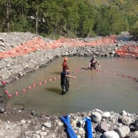 CBC Daybreak North: Rock slide spawns the great salmon rescue of Telegraph Creek