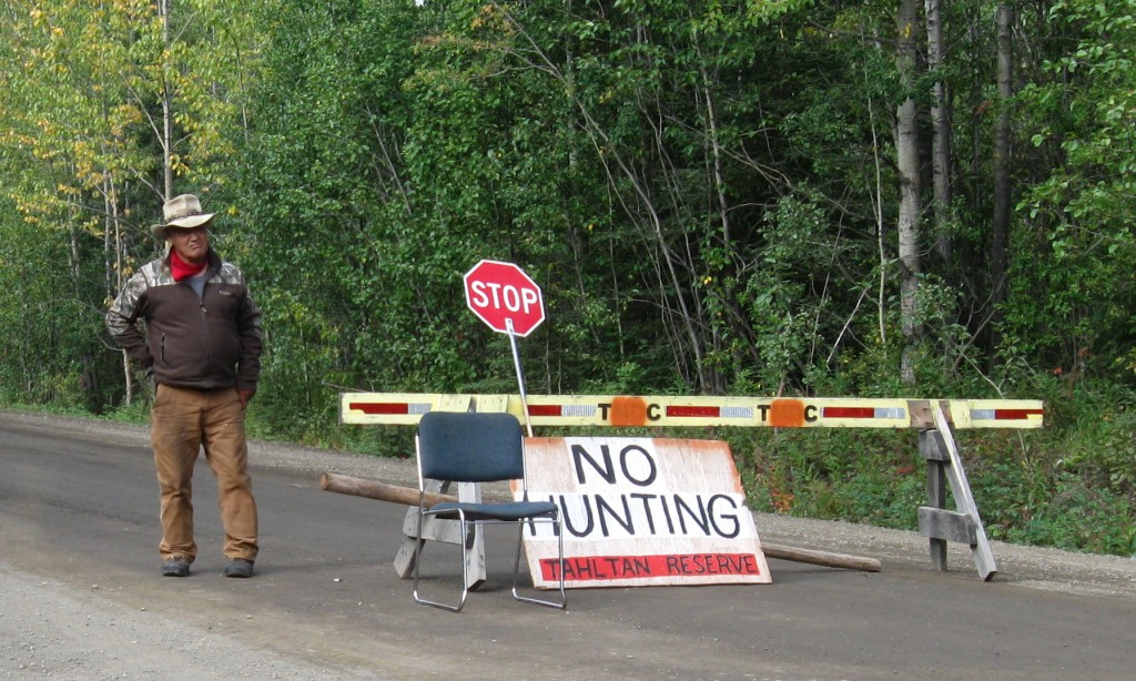 Roadblock seeks to limit moose hunting