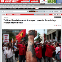 Tahltan Band demands transport permits for mining-related movements