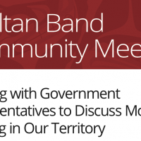 Community Meeting: Discussing Moose Hunting in Our Territory with Government
