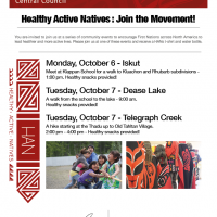 Healthy Active Natives : Join the Movement!