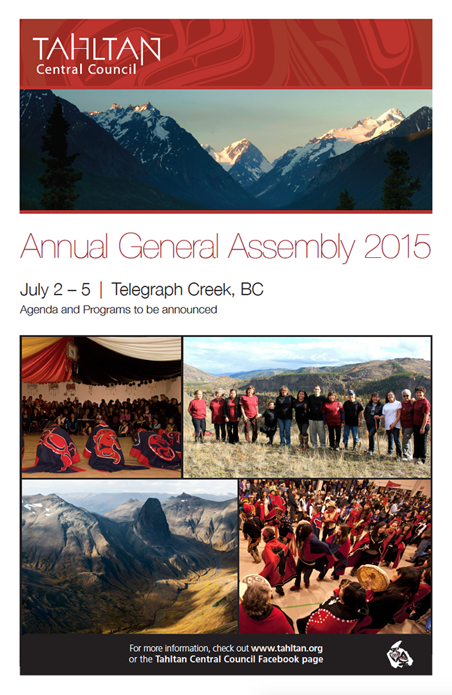 Notice of the upcoming TCC Annual General Assembly 2015