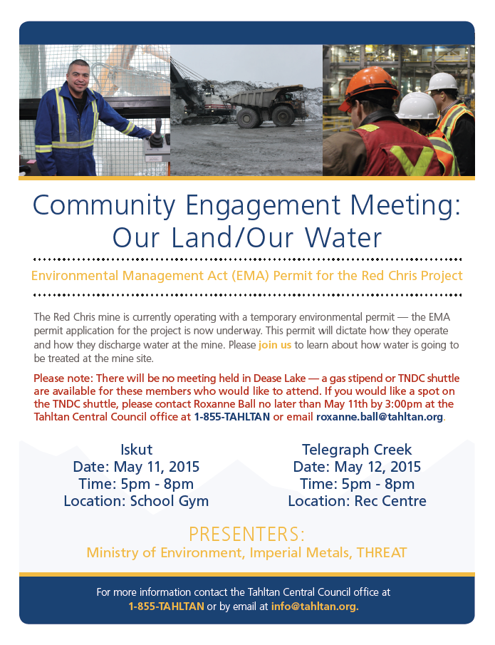 Community Engagement Meeting: Our Land/Our Water