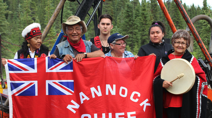 Unwanted Sheslay mining exploration causes Tahltan protest